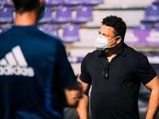 Ronaldo volvió a pasar revista a sus hombres. EFE/Archivo