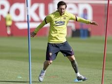 Messi apoya a UNICEF. EFE