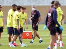 El Barça mantendrá los sueldos si hay ventas. EFE/Miguel Ruiz