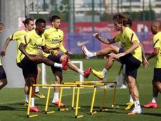 Griezmann olha com desejo para a Champions. EFE/ FC Barcelona / Miguel Ruiz