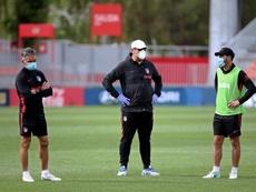 El 'Mono' Burgos dejará el Atleti. EFE