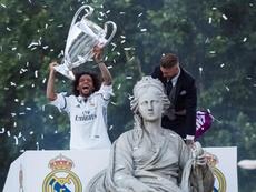 Le Real ne célébrera pas l'éventuelle victoire en Liga à Cibeles. EFE