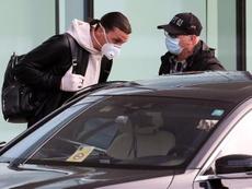 Ibrahimovic de retour à Milan pour ses examens. EFE