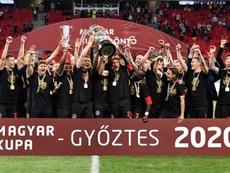 El mítico Honved, campeón de la Copa Húngara. EFE