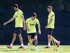 Messi se lesiona a oito dias da volta. EFE