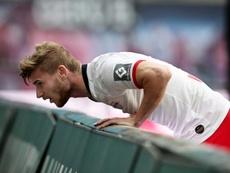 El Liverpool se ha quedado con las ganas de fichar a Werner. EFE/EPA/Archivo