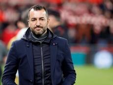 Diego Martínez is looking to keep his European dream alive. EFE