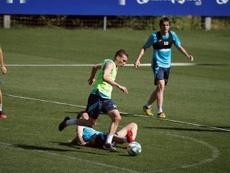 El Eibar solo ha hecho un fichaje este verano. EFE/Javier Etxezarreta