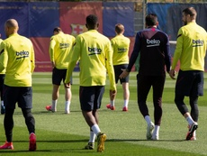 El Barça comunicado un positivo. EFE