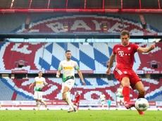 Presentes e redenção na Allianz Arena. EFE