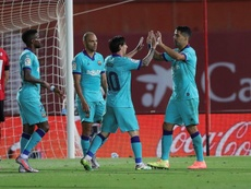 Messi et le Barça déroulent. EFE