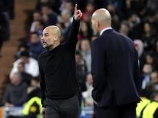 Guardiola revient sur le huitième de finale retour. EFE