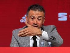 Luis Enrique will return as Spain coach in September. EFE
