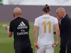Ramon Calderon analyse la situation de Bale au Real. EFE