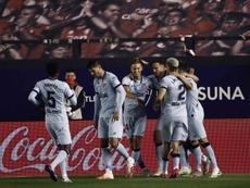 El Atlético tiene una razón más que de costumbre para tratar de doblegar a Osasuna. EFE/Archivo