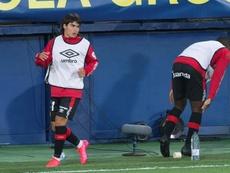 Luka Romero hizo historia en LaLiga tras debutar con tan solo 15 años. EFE
