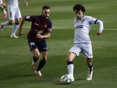 Roberto Torres catalogó de especial el partido ante el Granada. EFE/Jesús Diges