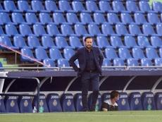 Bordalás solo gastó un cambio ante el Eibar. EFE/Kiko Huesca