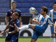 La Real Sociedad, tras los pasos de Cabrera. EFE/Alberto Estévez