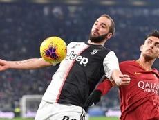 Veja o plano da Juventus para Higuaín. EFE/EPA/ALESSANDRO DI MARCO