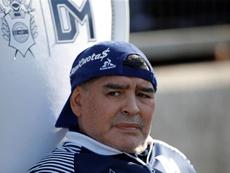 Pablo Velázquez alabó a Diego Armando Maradona. EFE