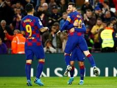 Gaspart no cree que Messi vaya a irse. EFE