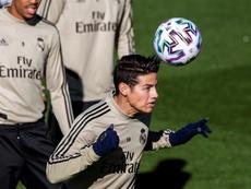 James no jugará más con el Madrid. EFE