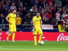 Cazorla coincidió con Bruno en el partido ante el Valencia. EFE/Archivo