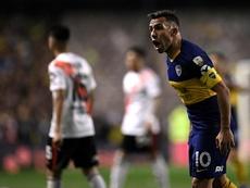 Tévez renovou com o Boca. EFE/Matias Napoli Escalero