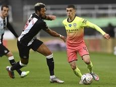 Manchester City derrotou o Newcastle por 2 a 0 e enfrentará o Arsenal. EFE/EPA/Shaun Botterill/NMC