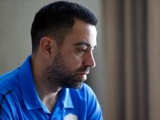 Xavi Hernandez testé positif au COVID-19. efe