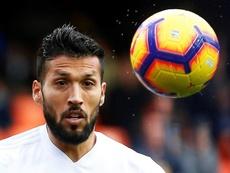 Garay, recuperado, ya quiere volver al fútbol. EFE