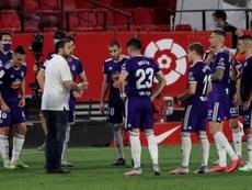 El Valladolid ha sumado tres puntos vitales. EFE/Archivo