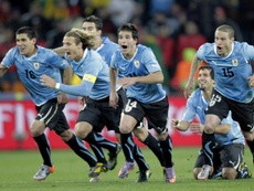 Diez años del día en el que Abreu cambió el destino de Uruguay. EFE