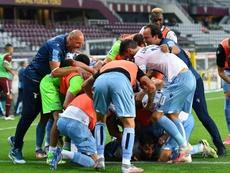 A Lazio derrotou o Torino por 2 a 1. EFE/EPA/ALESSANDRO DI MARCO