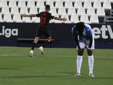 Munir selló la victoria con su gol recién salido del banquillo. EFE