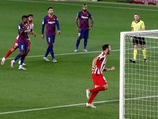 El Atleti le hizo un favor al Madrid. EFE