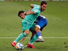 Hazard es duda para el partido ante el Alavés. EFE