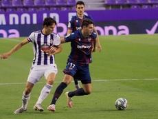 Al Valladolid se le ha escapado el triunfo. EFE