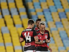 Flamengo informó de un positivo ¡horas antes de jugar! EFE/Antonio Lacerda
