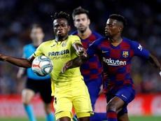 Les compos probables du match de Liga entre Villarreal et Barça. EFE