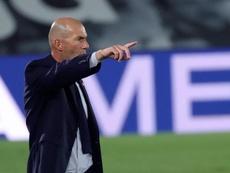 Zidane a analysé la victoire de son équipe. EFE