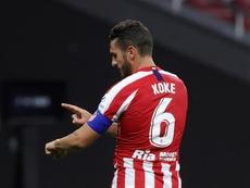 Koke echa de menos a la afición. EFE