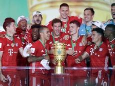 Lewandowski lleva al Bayern a un nuevo título. EFE/EPA