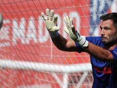 Adán jogará por duas temporadas em Portugal. EFE/AtléticodeMadrid.com