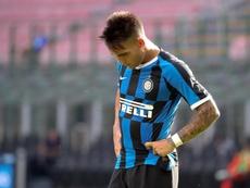Après la Lazio, l'Inter Milan tombe à son tour. EFE