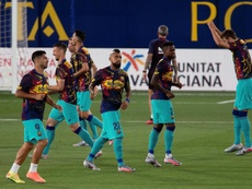 Le groupe du FC Barcelone pour affronter Valladolid. EFE