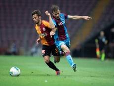 Victoria vital del Trabzonspor. EFE