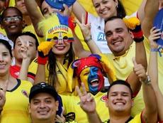 A Federação Colombiana foi duramente punida. EFE/MAURICIO DUEÑAS