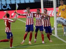 O Atlético de Madrid está em excelente forma. EFE/Salvador Sas